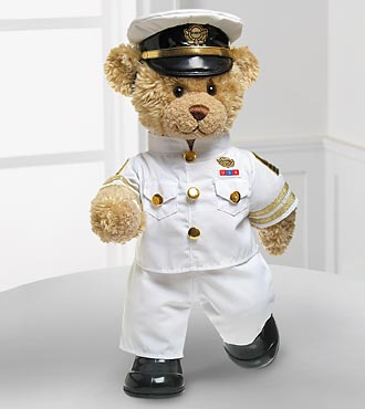 Naval Hero Bear by Build-A-Bear Workshop®