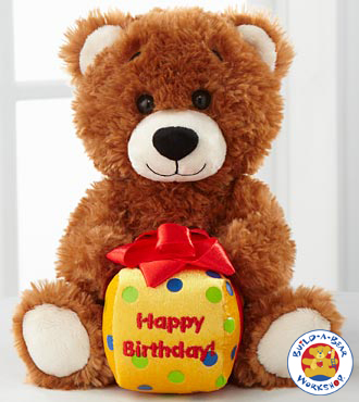 Happy Birthday Message Bear By Build-a-bear Workshop