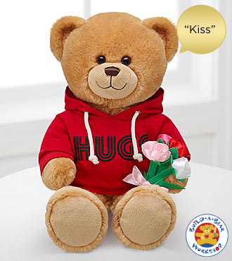 The Hugs Fur You Bear by Build-A-Bear Workshop&reg; - 'Kiss' Sound