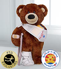 Get Well Bear by Build-A-Bear Workshop® - 'I LoveYou' Sound