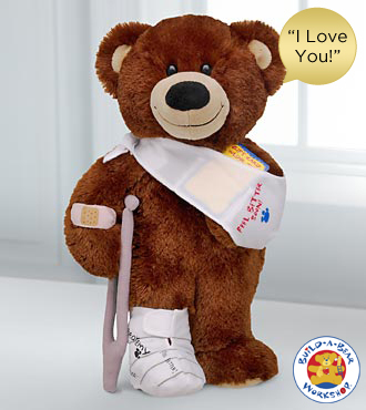 Get Well Bear by Build-A-Bear Workshop&reg; - 'I LoveYou' Sound
