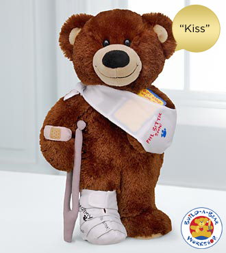 Get Well Bear by Build-A-Bear Workshop® - Kiss Sound