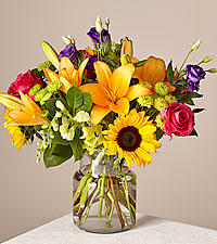The Happy Birthday Bouquet by FTD ® - VASE INCLUDED