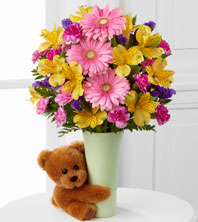 The Festive Big Hug® Bouquet by FTD® - VASE INCLUDED