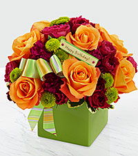 The Birthday Bouquet by FTD ® - VASE INCLUDED