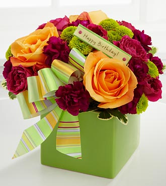 Birthday Flowers By FTD - Vase Included
