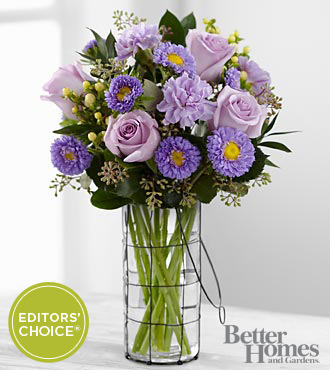 The FTD® Spring Style Bouquet by Better Homes and Gardens® - 11 Stems - VASE INCLUDED