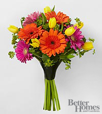 FTD ® Bright Bounty Bouquet in Parents ® magazine to benefit CARE
