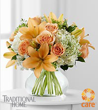 FTD® Sweet Inspirations Bouquet in Traditional Home® Magazine to benefit CARE