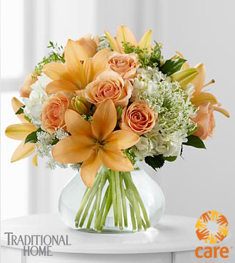 FTD&reg; Sweet Inspirations Bouquet in Traditional Home&reg; Magazine to benefit CARE