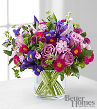 FTD ® Garden Gorgeous Bouquet in Ladies' Home Journal ® Magazine to benefit CARE