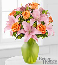 The FTD ® Fresh Focus Bouquet by Better Homes and Gardens ® - 9 Stems - VASE INCLUDED