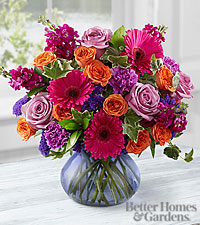 The FTD ® Life in Bloom Bouquet by Better Homes and Gardens ® - VASE INCLUDED
