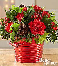 The FTD ® Merry Moments Holiday Bouquet by Better Homes and Gardens ®
