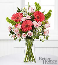 The FTD ® Garden Inspirations Bouquet by Better Homes and Gardens ® - 16 Stems - VASE INCLUDED