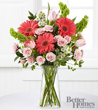 The FTD&reg; Garden Inspirations Bouquet by Better Homes and Gardens&reg; - 16 Stems - VASE INCLUDED