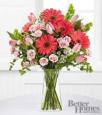 The FTD ® Garden Inspirations Bouquet by Better Homes and Gardens ® - 24 Stems - VASE INCLUDED