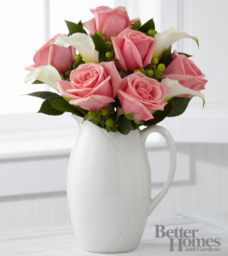 The FTD® Elegant Outlooks Bouquet by Better Homes and Gardens® - 10 Stems - VASE INCLUDED