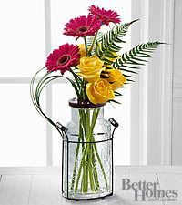 The FTD&reg; Perfect Pastimes Bouquet by Better Homes and Gardens&reg; - 8 Stems - VASE INCLUDED