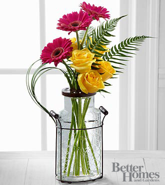 The FTD® Perfect Pastimes Bouquet by Better Homes and Gardens® - 8 Stems - VASE INCLUDED