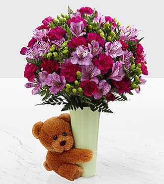 The Big Hug Bouquet by FTD - VASE INCLUDED