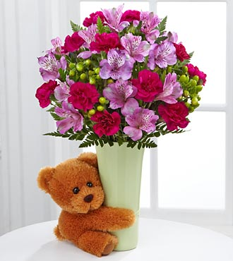 The Big Hug&reg; Bouquet by FTD&reg; - VASE INCLUDED