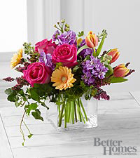 The FTD ® Spring Festival Bouquet by Better Homes and Gardens ® - 15 Stems - VASE INCLUDED
