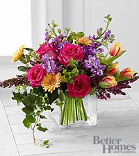 The FTD ® Spring Festival Bouquet by Better Homes and Gardens ® - 22 Stems - VASE INCLUDED