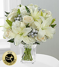 The FTD ® Intriguing Grace™ Bouquet - VASE INCLUDED