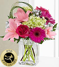The FTD ® Blooming Bliss™ Bouquet - VASE INCLUDED