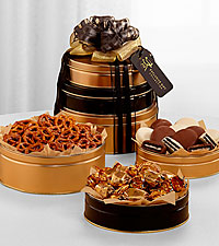 The FTD&reg; Exclusive Signature Snack Tower