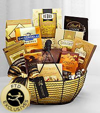The FTD&reg; Exclusive Sweet & Sublime Gourmet Basket