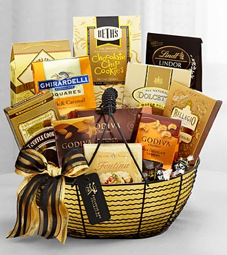 The FTD® Exclusive Sweet & Sublime Gourmet Basket