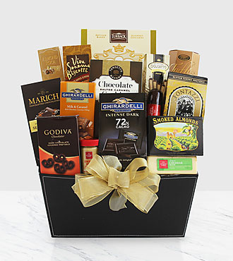 The FTD&reg; Exclusive Fine and Fancy Gourmet Gift