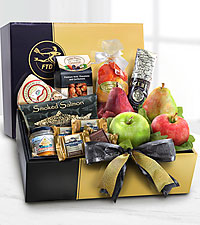 The FTD ® Gourmet Sampler Gift Box