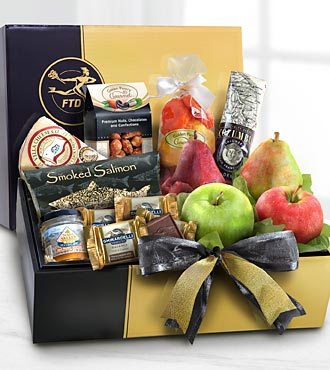 The FTD&reg; Gourmet Sampler Gift Box