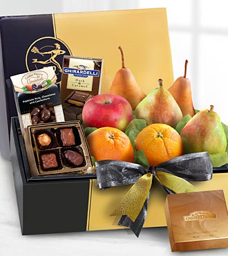 The FTD&reg; Gourmet Fruit & Chocolates Gift Box - BETTER