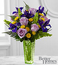 The FTD ® Garden Vista™ Bouquet by Better Homes and Gardens ® - VASE INCLUDED