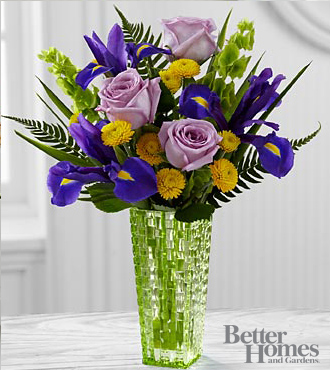 The FTD&reg; Garden Vista&trade; Bouquet by Better Homes and Gardens&reg; - VASE INCLUDED