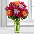 The FTD® Sun's Sweetness™ Rose Bouquet by Better Homes and Gardens® - VASE INCLUDED