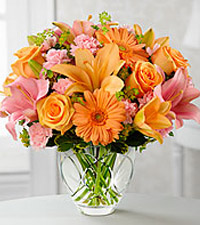 Le bouquet Brighten Your Day<sup>&trade;</sup> de FTD� - VASE INCLUS