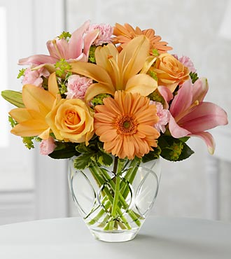 The Brighten Your Day™ Bouquet by FTD® - VASE INCLUDED