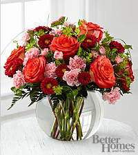The FTD® Color Rush™ Bouquet by Better Homes and Gardens® - VASE INCLUDED