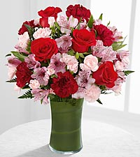 The Love in Bloom&trade; Bouquet by FTD&reg; - VASE INCLUDED