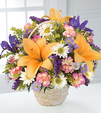 The Natural Wonders&trade; Bouquet by FTD&reg; - BASKET INCLUDED