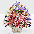 The Wondrous Nature™ Bouquet by FTD® - BASKET INCLUDED