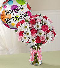 The Sweet Surprises ® Bouquet by FTD ® - Birthday Balloon Included