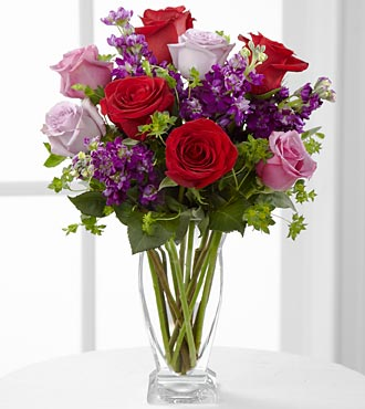 The Garden Walk&trade; Bouquet by FTD&reg; - VASE INCLUDED