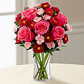 The Precious Heart&trade; Bouquet by FTD&reg; - VASE INCLUDED