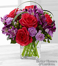 The FTD ® Be Bold™ Bouquet by Better Homes and Gardens ® - VASE INCLUDED